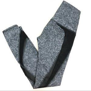 Lululemon | Splatter hi rise mesh tights leggings